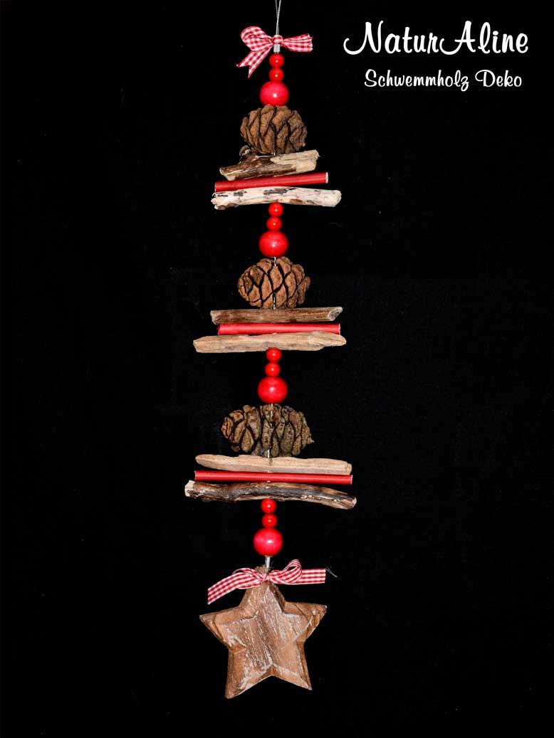 Weihnachtsdeko schwemmholz girlande stern 148 - Weihnachtsdeko girlanden ...