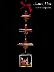 Weihnachtsdeko Schwemmholz Girlande Bild 437