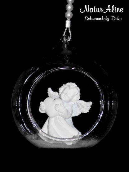Schwemmholz Girlande Engel Bild 1