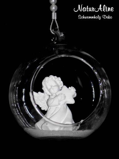Schwemmholz Girlande Engel Bild 2