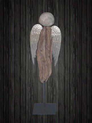 Schwemmholz Engel stehend